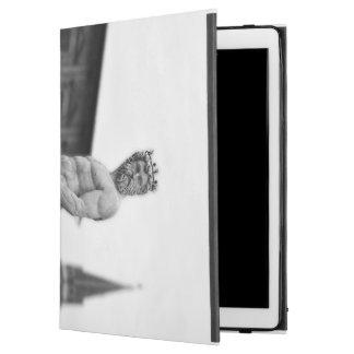 "Capa Para iPad Pro 12.9"" Caso de Ipad da estátua de Netuno pro"
