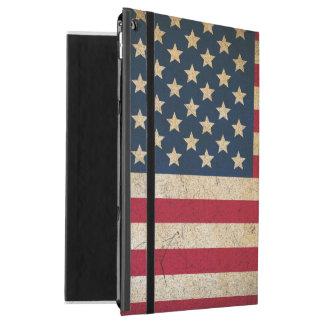 """Capa Para iPad Pro 12.9"""" Caso do iPad da bandeira americana do vintage pro"""