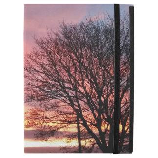 """Capa Para iPad Pro 12.9"""" Caso do iPad do céu do rosa do por do sol de"""