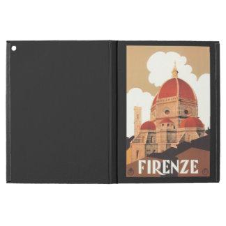"Capa Para iPad Pro 12.9"" Caso do iPad do poster de Firenze pro"