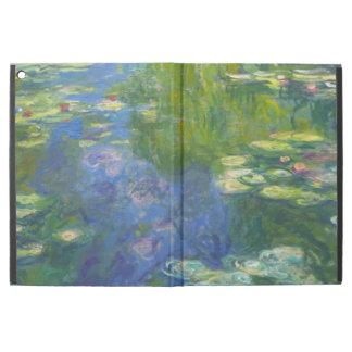 """Capa Para iPad Pro 12.9"""" Caso do iPad dos lírios de água de Monet pro"""