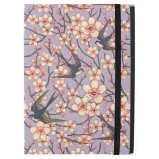 """Capa Para iPad Pro 12.9"""" Caso do iPad dos pássaros e das flores pro"""