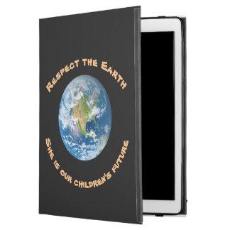 """Capa Para iPad Pro 12.9"""" Caso do iPad futuro da terra do planeta do"""