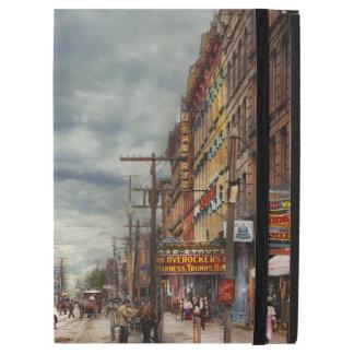 """Capa Para iPad Pro 12.9"""" Cidade - NY - o mercado nunca em mudança 1906"""