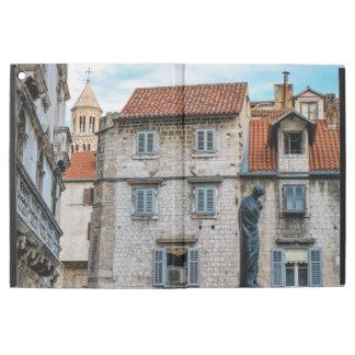 """Capa Para iPad Pro 12.9"""" Cidade velha, separação, Croatia"""