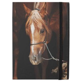 """Capa Para iPad Pro 12.9"""" coleção do cavalo. vermelho árabe"""