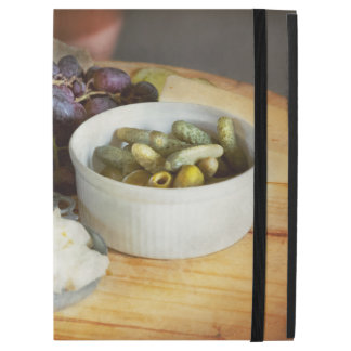 "Capa Para iPad Pro 12.9"" Comida - fruta - pepino e uvas"