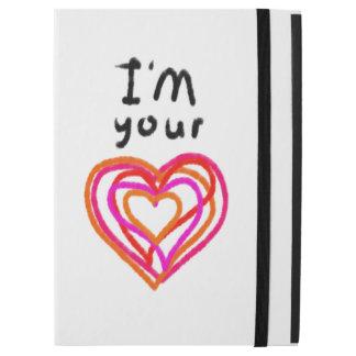 """Capa Para iPad Pro 12.9"""" Coração"""