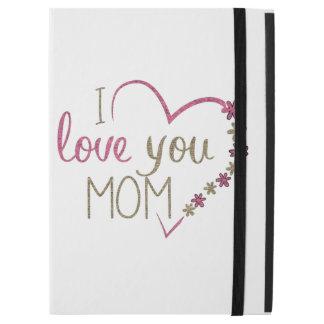 """Capa Para iPad Pro 12.9"""" Coração do dia das mães da mamã do amor"""