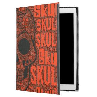 "Capa Para iPad Pro 12.9"" Crânio B de WordArt"