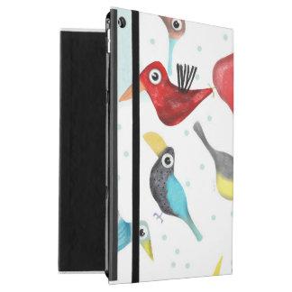 "Capa Para iPad Pro 12.9"" Cuteness do mexicano dos pássaros"