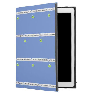 """Capa Para iPad Pro 12.9"""" Deixe-nos falar sobre o potássio"""