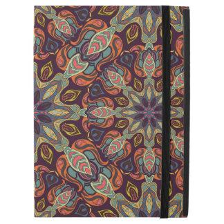 """Capa Para iPad Pro 12.9"""" Design floral do teste padrão do abstrato da"""