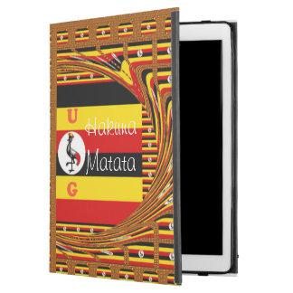 "Capa Para iPad Pro 12.9"" Design Monogrammed do UG das cores brilhantes"