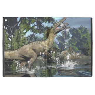 "Capa Para iPad Pro 12.9"" Dinossauro de Austroraptor"