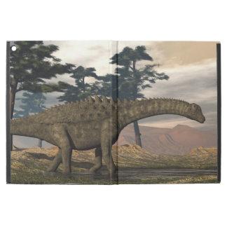 "Capa Para iPad Pro 12.9"" Dinossauro do Ampelosaurus"