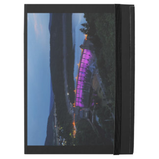 "Capa Para iPad Pro 12.9"" Edersee Staumauer iluminado ao cair da tarde"