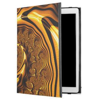 """Capa Para iPad Pro 12.9"""" Espiral super do chocolate de leite do corrimento"""