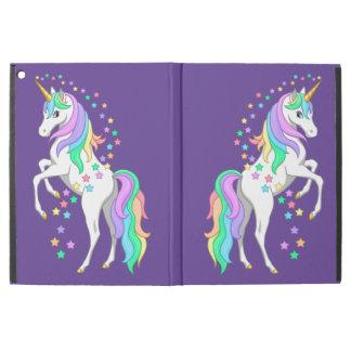 """Capa Para iPad Pro 12.9"""" Estrelas de queda de elevação bonito do unicórnio"""