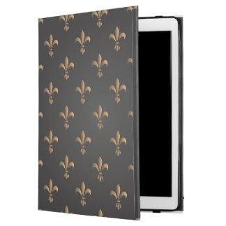 """Capa Para iPad Pro 12.9"""" Flor de lis, vintage, elegante, chic.classy, teste"""