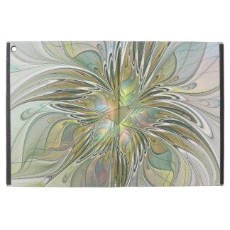"Capa Para iPad Pro 12.9"" Flor moderna da arte do Fractal da fantasia floral"