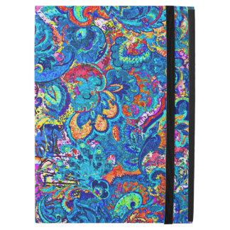 """Capa Para iPad Pro 12.9"""" Flores abstratas coloridas bonitos da pintura"""