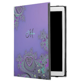 Purple Fractal with Celtic Hearts iPad Pro Case