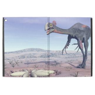 """Capa Para iPad Pro 12.9"""" Gigantoraptor fêmea que vai a seu ninho - 3D"""
