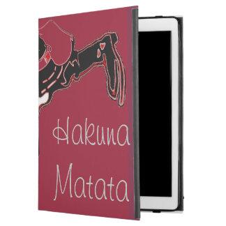 """Capa Para iPad Pro 12.9"""" Hakuna Matata HoHoHo masculino fantástico urbano!"""