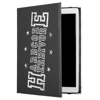 "Capa Para iPad Pro 12.9"" Herbívoro incondicional (branco)"
