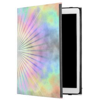 """Capa Para iPad Pro 12.9"""" Horizonte da explosão da estrela do arco-íris"""