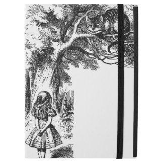 """Capa Para iPad Pro 12.9"""" iPad pro com a Alice na ilustração do país das"""