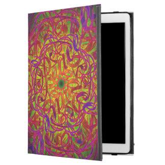 """Capa Para iPad Pro 12.9"""" Mandala da inspiração - """"paz """""""