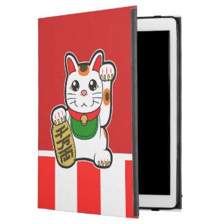 """Capa Para iPad Pro 12.9"""" Maneki Neko: Gato afortunado japonês"""