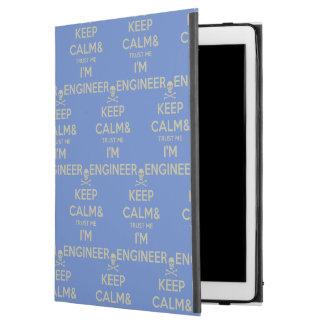 """Capa Para iPad Pro 12.9"""" Mantenha a calma e confie-a que eu mim é"""
