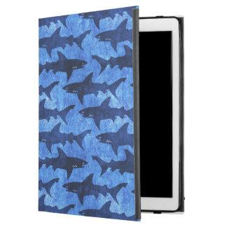 """Capa Para iPad Pro 12.9"""" Mar profundo do ataque do tubarão"""
