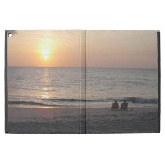 """Capa Para iPad Pro 12.9"""" Nascer do sol morno do oceano dos pensamentos"""