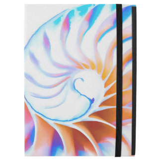 "Capa Para iPad Pro 12.9"" Nautilus colorido"