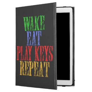 """Capa Para iPad Pro 12.9"""" O acordar come a repetição das CHAVES do JOGO"""