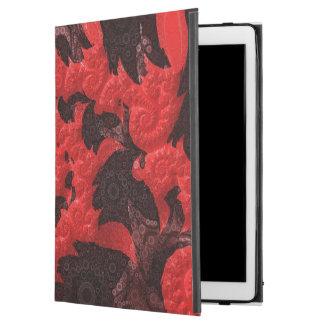 """Capa Para iPad Pro 12.9"""" O beijo espiral preto e vermelho de um escorpião"""