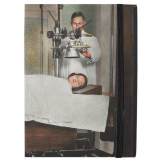 """Capa Para iPad Pro 12.9"""" O doutor - raio X - que obtem minha cabeça"""