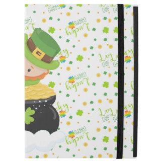 "Capa Para iPad Pro 12.9"" O Leprechaun da almofada da rua"