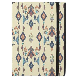 "Capa Para iPad Pro 12.9"" Ornamento asteca tribal étnico do vintage"
