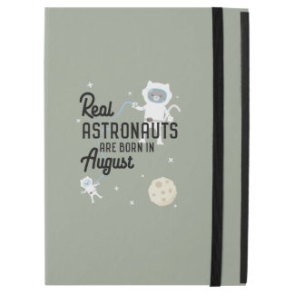 """Capa Para iPad Pro 12.9"""" Os astronautas são em agosto Ztw1w nascidos"""