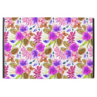 "Capa Para iPad Pro 12.9"" Padrões florais do vintage bonito"