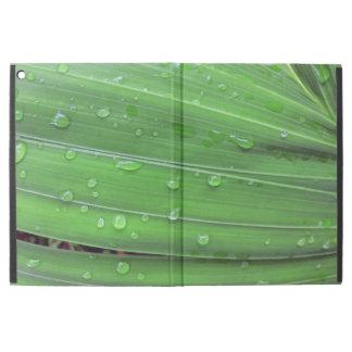 """Capa Para iPad Pro 12.9"""" Palma e pingos de chuva do Natal"""