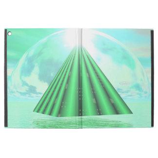 """Capa Para iPad Pro 12.9"""" Pirâmide Mystical - 3D rendem"""