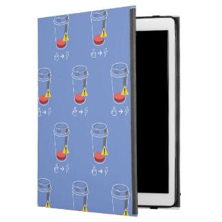 "Capa Para iPad Pro 12.9"" Ponto baixo nivelado do café"