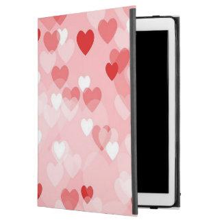 """Capa Para iPad Pro 12.9"""" Por todo o lado nos corações, vermelhos"""