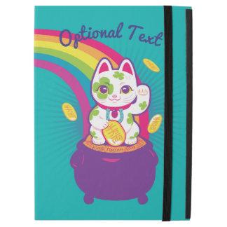 "Capa Para iPad Pro 12.9"" Pote de boa sorte de Maneki Neko do gato de ouro"
